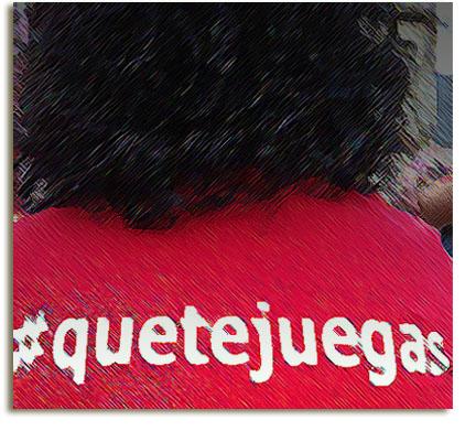 #quetejuegas
