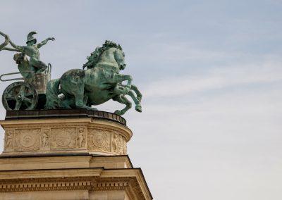 Budapest - Plaza de los Heroes006