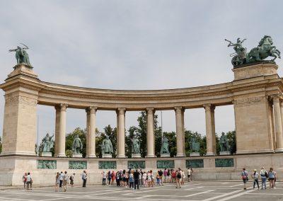 Budapest - Plaza de los Heroes007