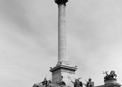 Budapest - Plaza de los Heroes008