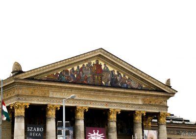 Budapest - Plaza de los Heroes009