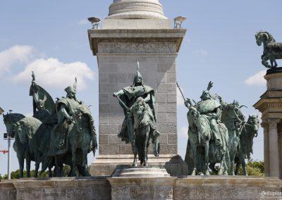 Budapest - Plaza de los Heroes010