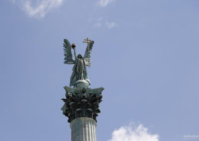 Budapest - Plaza de los Heroes013