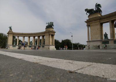 Budapest - Plaza de los Heroes016