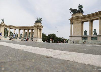 Budapest - Plaza de los Heroes017