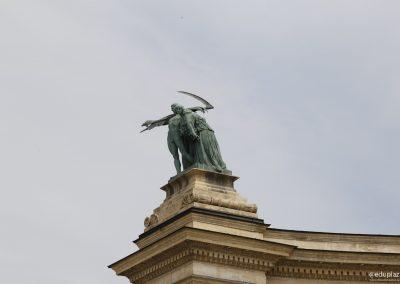 Budapest - Plaza de los Heroes026