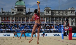 LOCOG Test Events for London 2012 – VISA FIVB Beach Volleyball International